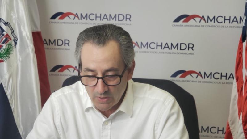 En evento AMCHAMDR piden crear cadena suministro resiliente ante alza fletes marítimos