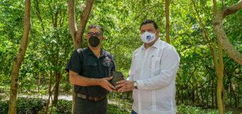 Restauran Fundación Refidomsa y Medio Ambiente viveros mangles Parque Ecológico Nigua
