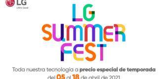 LG Summer Fest con mejores ofertas en Plaza Lama
