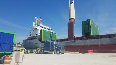Exporta Minera Belfond 8 mil toneladas métricas carbonato calcio hacia  EE. UU.