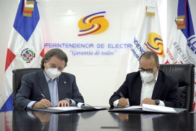 Superintendencia de Electricidad firma convenio de colaboración con SIUBEN