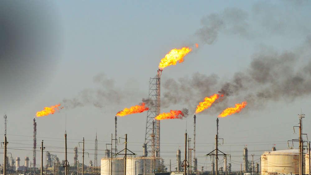 Siete países representan dos tercios quema mundial de gas