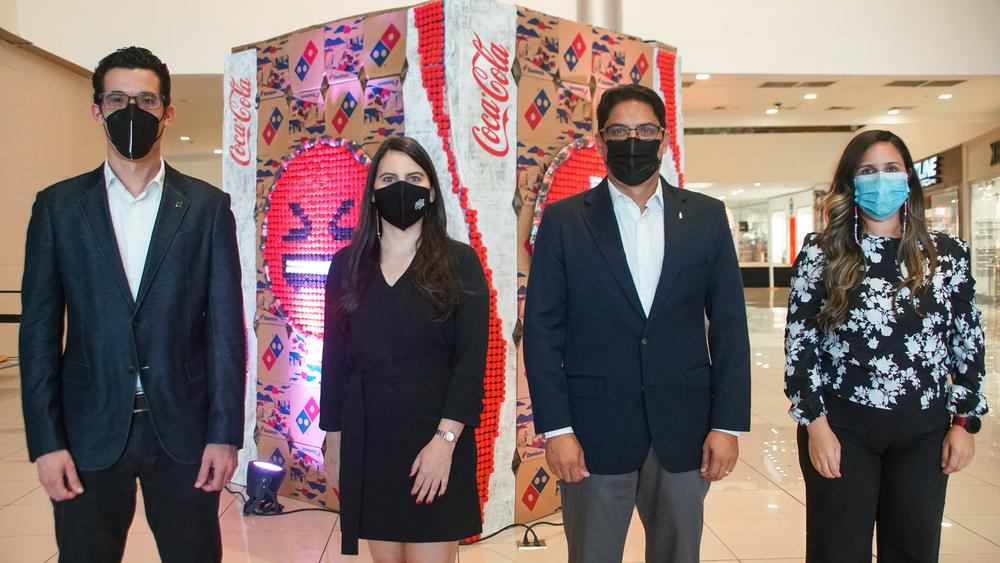 Celebran Coca-Cola y Domino´s Día Mundial Reciclaje