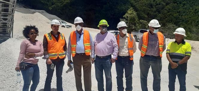 Supervisa Ministro Energía y Minas a minera Belfond Enterprise