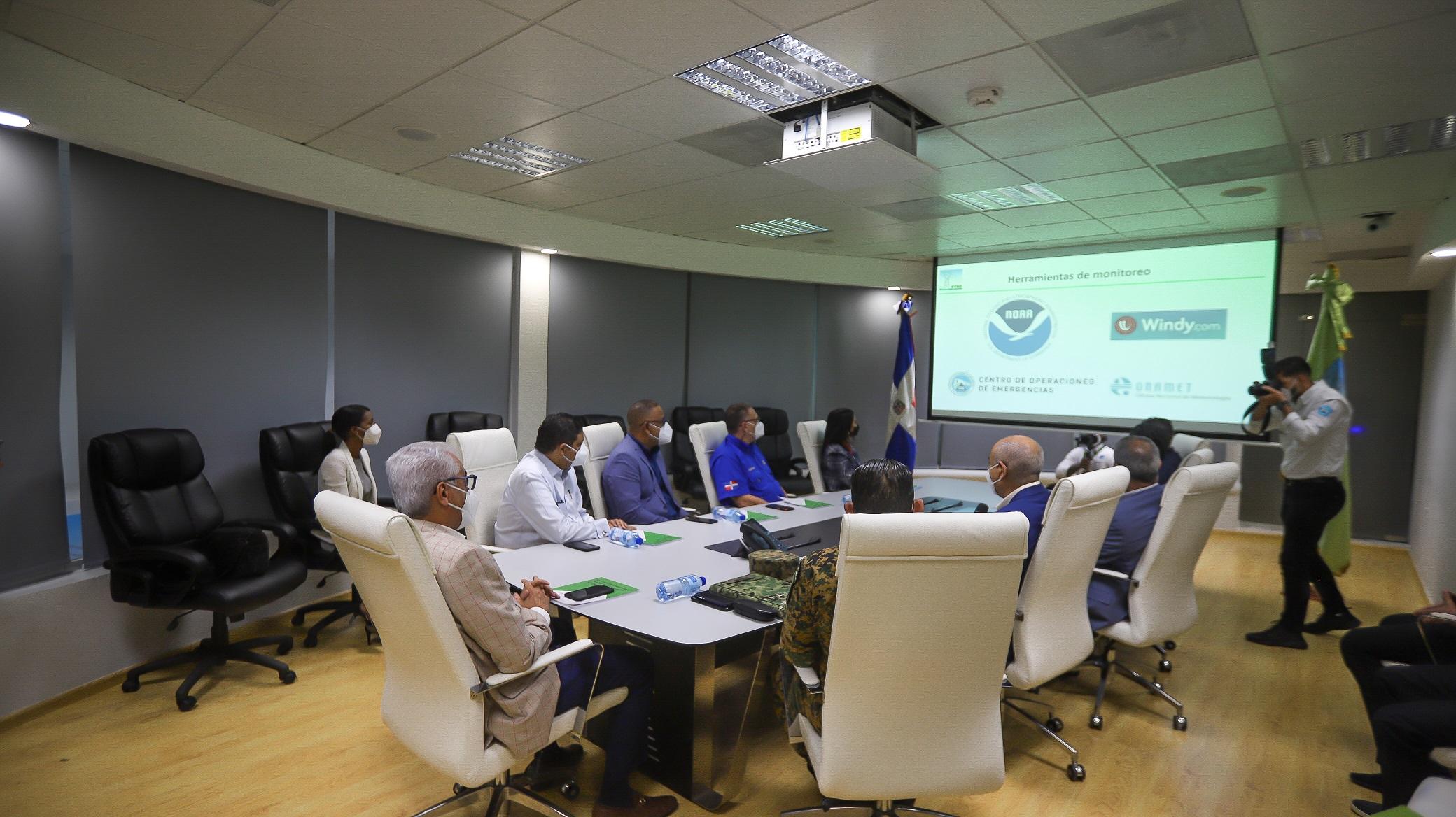 ETED se prepara para hacer frente a riesgos durante temporada ciclónica 2021
