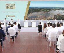 Abinader destaca impacto del Parque Solar Girasol inaugurado con inversión de USD 100 millones por EGE Haina