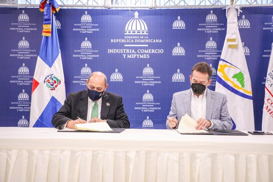 MICM e INFOTEP ejecutarán programa de formación para impulsar la industrialización y encadenamientos productivos