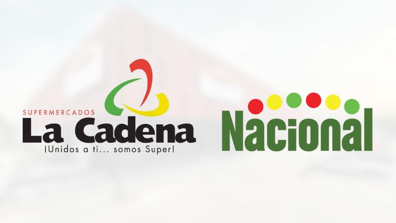 Informan Supermercados Nacional y Supermercados La Cadena cambios sucursales