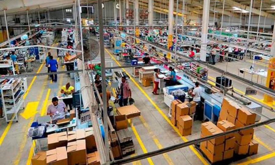 Zonas francas, manufactura local y comercio están entre los sectores que más aportaron a la economía