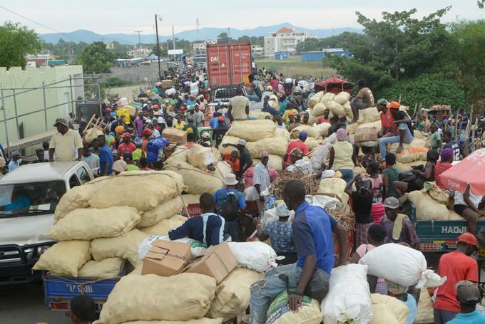 Reapertura de la frontera dinamiza el comercio de República Dominicana con Haití