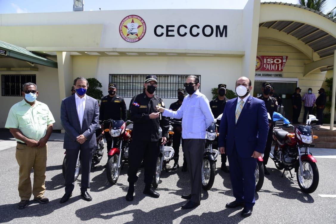 Dona ADEIC motocicletas fortalecer lucha comercio ilícito y contrabando