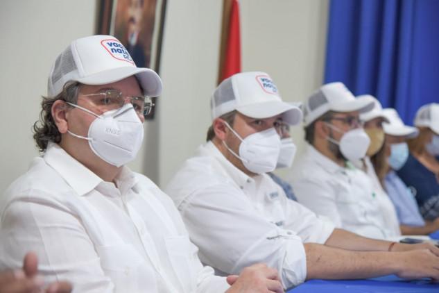 Superintendencia de Electricidad en apoyo a la Jornada de vacunación